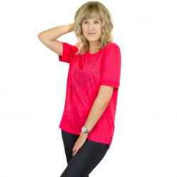 Nike Damen T-Shirt Logo red/purple