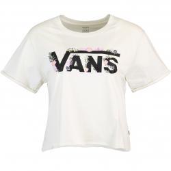 Vans Blozzom Roll Out Cropped Damen Shirt weiß
