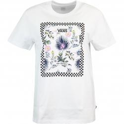 Vans Border Floral Damen Shirt weiß