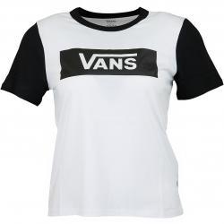 Vans Damen T-Shirt V Tangle Range Ringer weiß/schwarz