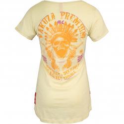Yakuza Premium Damen Shirt 3031 hellgelb
