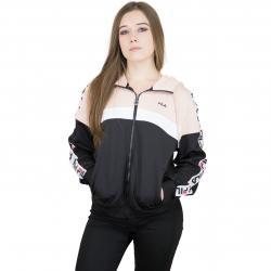Fila Damen Trainingsjacke Urban Line Teela schwarz/rosa