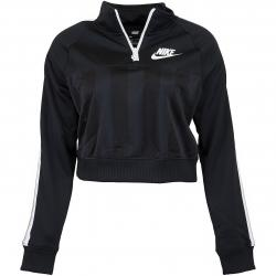 Nike Damen Trainingsjacke Shadow Stripe HZ schwarz/weiß