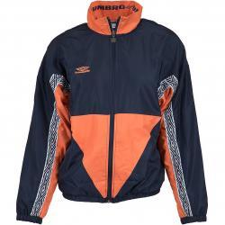 Umbro Damen Trainingsjacke Shell dunkelblau/orange
