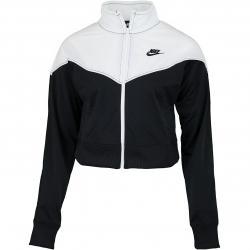 Nike Damen Trainingsjacke Heritage schwarz/weiß
