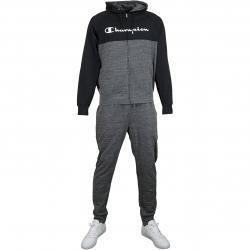 Champion Trainingsanzug Full Zip schwarz/dunkelgrau