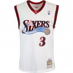 Mitchell & Ness NBA Swingman Allen Iverson Philadelphia 76ers 00/01 Trikot weiß
