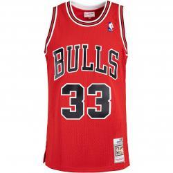 Mitchell & Ness NBA Swingman Scottie Pippen Chicago Bulls 97/98 Trikot schwarz
