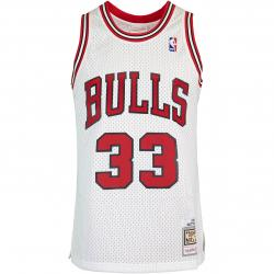 Mitchell & Ness NBA Swingman Scottie Pippen Chicago Bulls 97/98 Trikot weiß