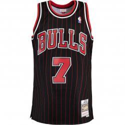 Mitchell & Ness NBA Swingman Toni Kukoc Chicago Bulls 95/96 Trikot schwarz
