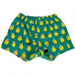 Lousy Livin Boxershorts Zitrone grün