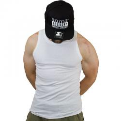 Urban Classics Slim Fit Rib Tanktop white