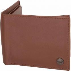 Reell Geldbörse Button Leather cognac