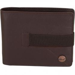 Reell Geldbörse Strap Leather braun