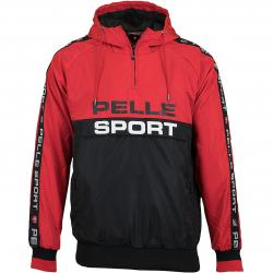 Pelle Pelle Windbreaker Vintage Sports rot