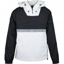 Volcom Windbreaker Fezzes weiß/schwarz