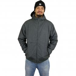 Cleptomanicx Winterjacke Polarzipper Hemp 3 h dk grey