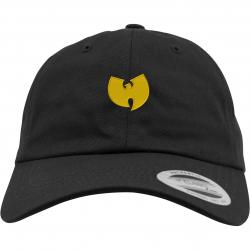 Wu-Wear Logo Dad Cap schwarz