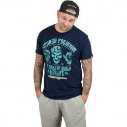 Yakuza Premium T-Shirt 2308 dunkelblau