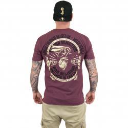 Yakuza Premium T-Shirt 2416 weinrot
