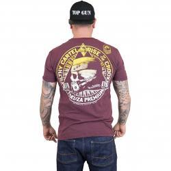 Yakuza Premium T-Shirt 2518 weinrot
