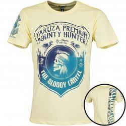 Yakuza Premium T-Shirt 2707 hellgelb