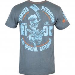 Yakuza Premium Herren T-Shirt 3015 graublau
