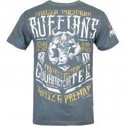Yakuza Premium Herren T-Shirt 3017 graublau
