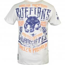 Yakuza Premium Herren T-Shirt 3017 Creme weiß