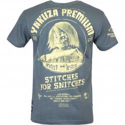 Yakuza Premium T-Shirt 3019 graublau