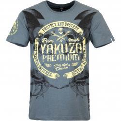 Yakuza Premium T-Shirt 3020 graublau