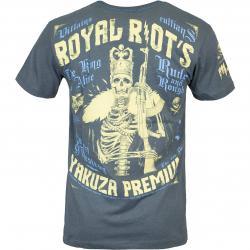 Yakuza Premium T-Shirt 3021 graublau