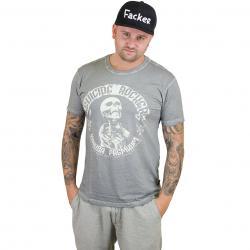 Yakuza Premium T-Shirt Vintage 104 grau