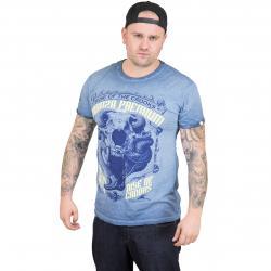 Yakuza Premium T-Shirt Vintage 302 blau