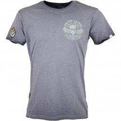 Yakuza Premium T-Shirt Vintage 405 dunkelgrau