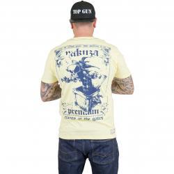 Yakuza Premium T-Shirt 1507 gelb