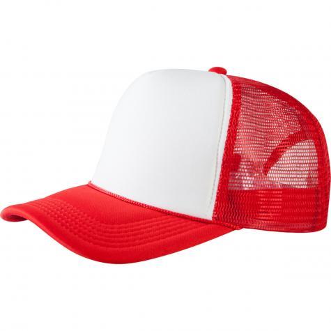 MasterDis Trucker Cap Original red/white