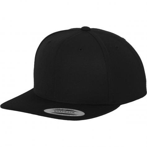 Yupoong Snapback Cap black