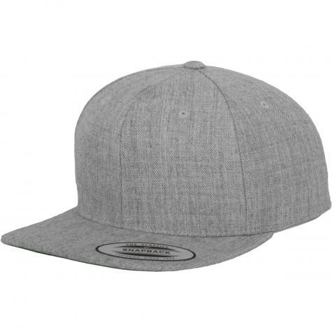Yupoong Snapback Cap heathergrey