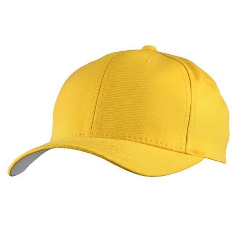 Yupoong Flexfit Basecap gelb
