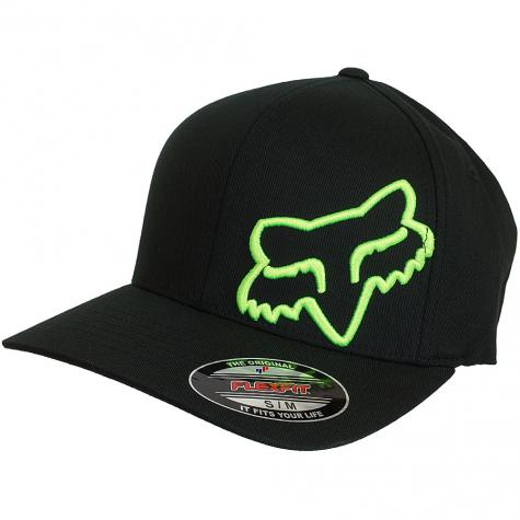 Fox Flexfit Cap Flex 45 schwarz/grün
