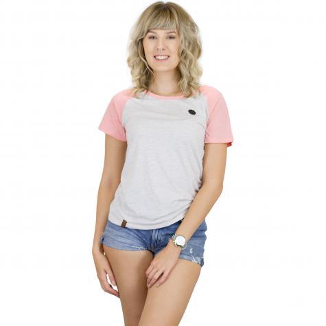 Naketano Damen T-Shirt Gebumst wie gebämst II oma/muschi