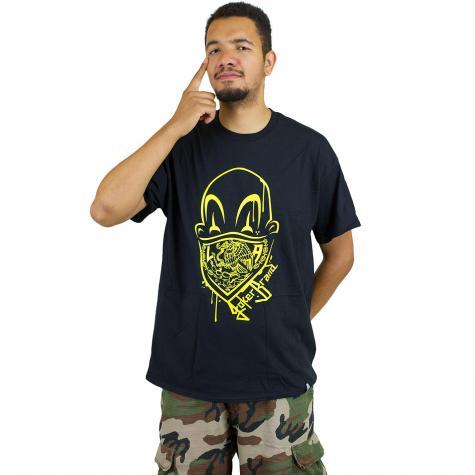 Joker Brand T-Shirt Clown Brand schwarz/gelb