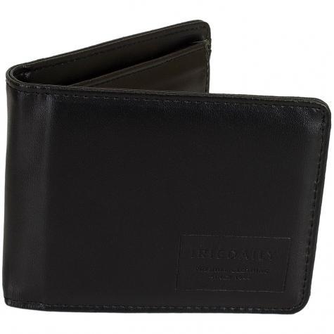 Iriedaily Wallet Styled Reclaim schwarz