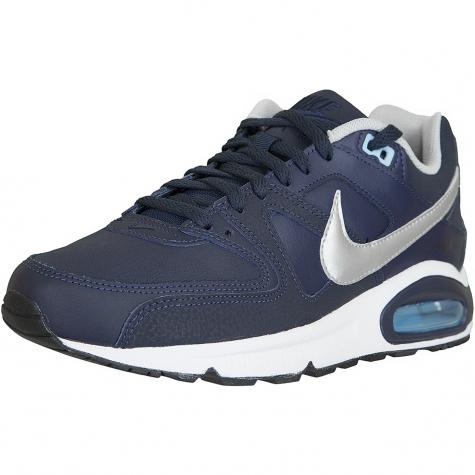 Nike Sneaker Air Max Command Leather dunkelblau/silber