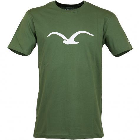 Cleptomanicx T-Shirt Mowe grün/weiß