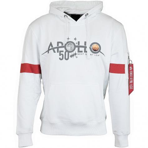 Alpha Industries Hoody Apollo 50 Reflective weiß