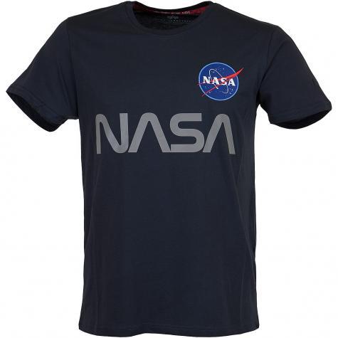 Alpha Industries T-Shirt Apollo 15 dunkelblau