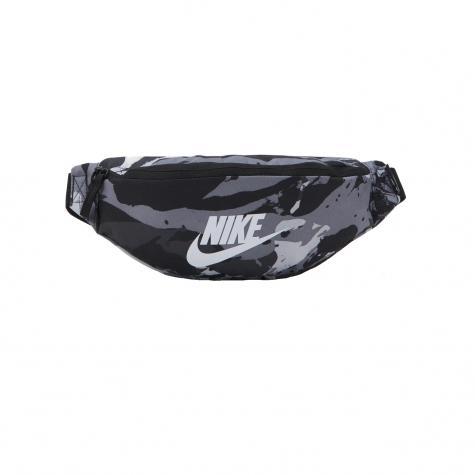 Nike Heritage Allover Print Gürteltasche schwarz
