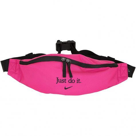 Nike Gürteltasche Heritage Just Do It pink/schwarz